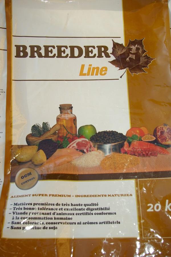 Vente aliment Breeder Line